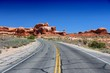 Utah - road in Arches National Park