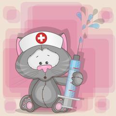 Cat nurse