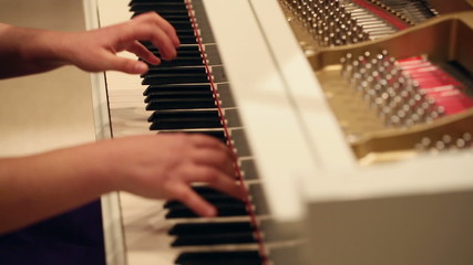 Woman Play a Piano 3
