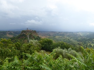 Vista panorámica de Bagnioregio