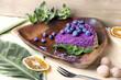 blueberry pie, raw food