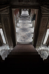 architectural details of temple angkor wat