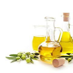 olive oil isolated