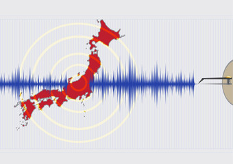 Japan Earthquake Concept Vector EPS10