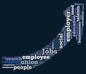 jobs word cloud