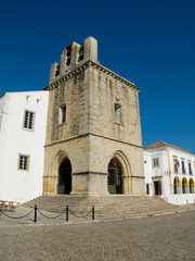 Faro Cathedral. Faro, Algarve. Portugal.