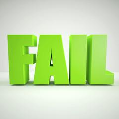 Green fail