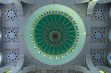 Inside Main Dome of Sultan Ahmad Shah 1 Mosque in Kuantan poster