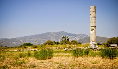 Ancient ruins, Heraion, Samos, Greece