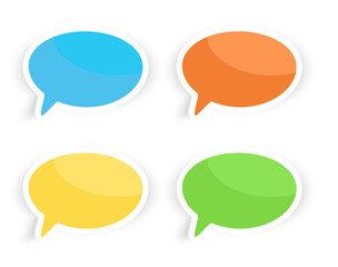 Speech Text Bubbles