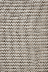 Brown wool knit texture