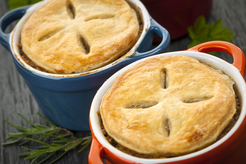 Homemade potpies
