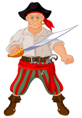 Armed pirate
