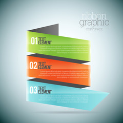 Ribbon Graphic Copyspace