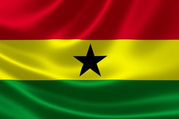 Ghana's National Flag