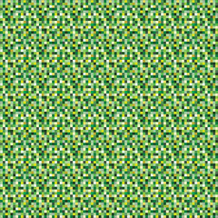 Tile pattern in shades of green,Vector pattern.