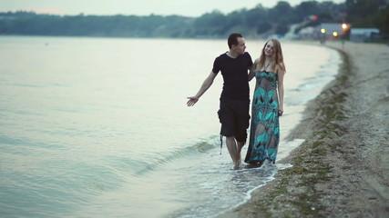couple at beach