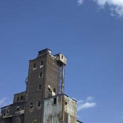 Large abandonned factory