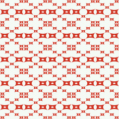 Seamless pattern with squares, stars shapes.