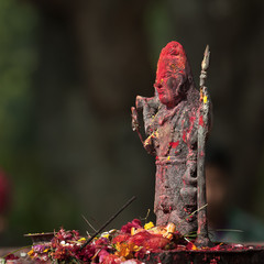 Hinduism divinity in place of worship in Nepal