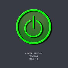 green vector enter button