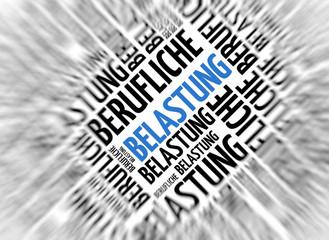 German background - Belastung (stress)