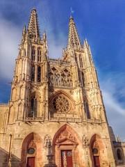 catedral de Burgos en España.