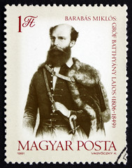 Postage stamp Hungary 1981 Count Lajos Batthyany