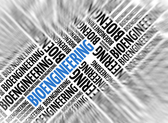 Modern marketing background - BIOENGINEERING