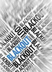 Modern marketing background - Blackout