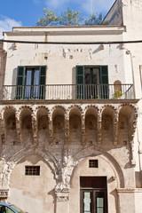 Brindisi, Palazzo Balsamo - Puglia, Italy