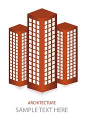 vector skyscrapers icons