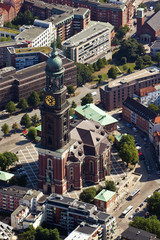 Michel, Hauptkirche Sankt Michaelis in Hamburg