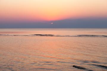 Baltic sunset.