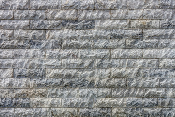 Natural marble stone tiles wall for background and texture