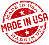Fototapety made in usa stamp