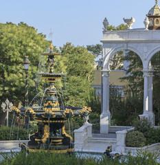 Governor's garden in Baku
