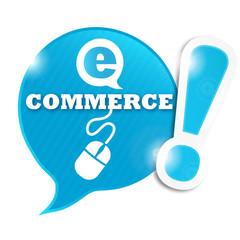 bulle e-commerce (clic souris)