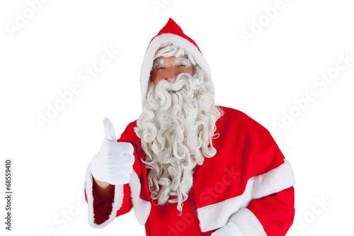 canvas print picture Weihnachtsmann
