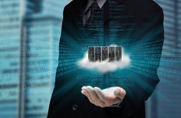 Internet Business Cloud Server at hand