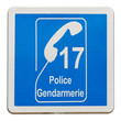 panneau 17 police gendarmerie
