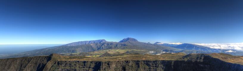 Panoramique du Piton des Neiges, 3069m