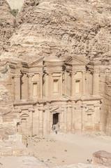 High Temple of Petra, Jordan.