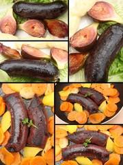 Boudin noir  à l' oignon - Figue- Patate douce
