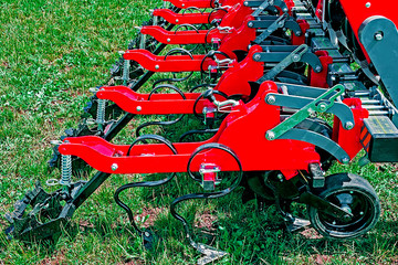 Detail of agricultural equipment 7