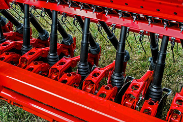 Detail of agricultural equipment 36
