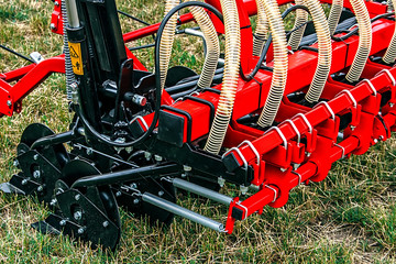 Detail of agricultural equipment 62