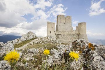 Rocca Calascio in Abruzzo, Italia