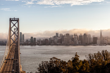 Bay Bridge view, San Francisco