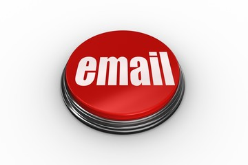 Email against digitally generated red push button